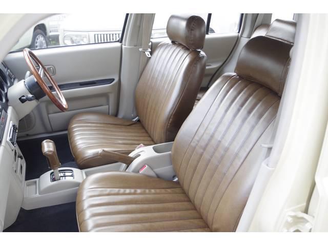 日産 ラシーン タイプI レトロフェイスグリル ウッドハンドル シートカバー