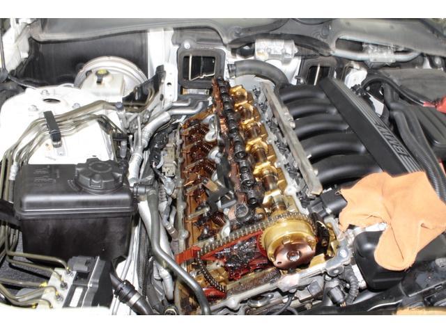 高度な整備箇所のエンジンもお任せ