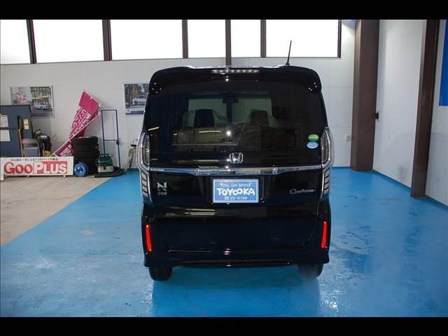 ホンダ N BOXカスタム カスタム G・EX 4WD キーレス 未使用車 バックカメラ