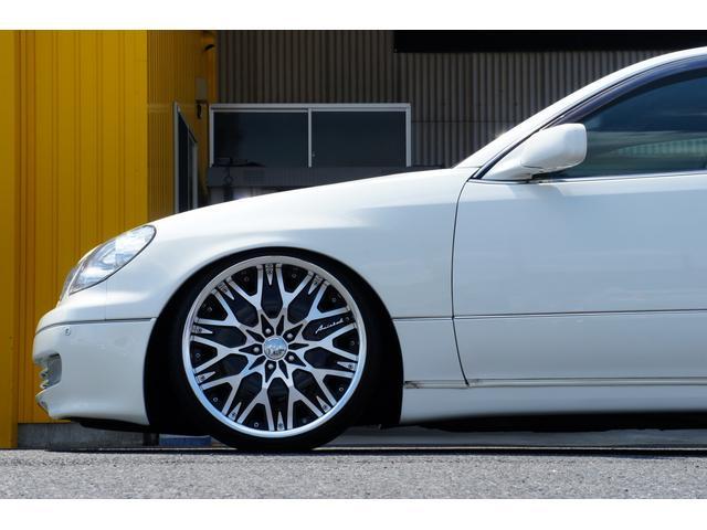 S300ベルテックスエディション黒革KTS車高調20インチ(8枚目)