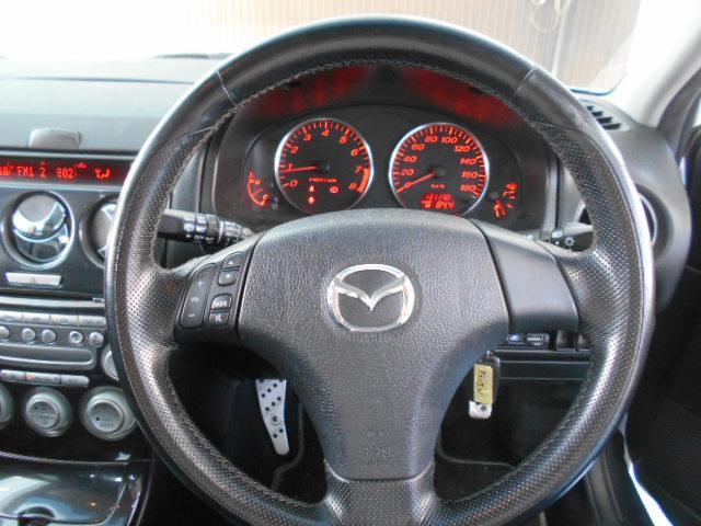 マツダ アテンザスポーツワゴン 23Z  ローダウン 5速マニュアル キーレスS
