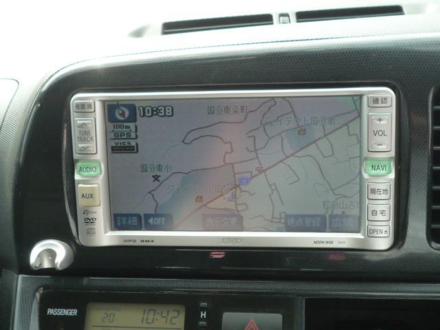 トヨタ ウィッシュ X エアロスポーツパッケージ  DVDナビ 外装キレイ