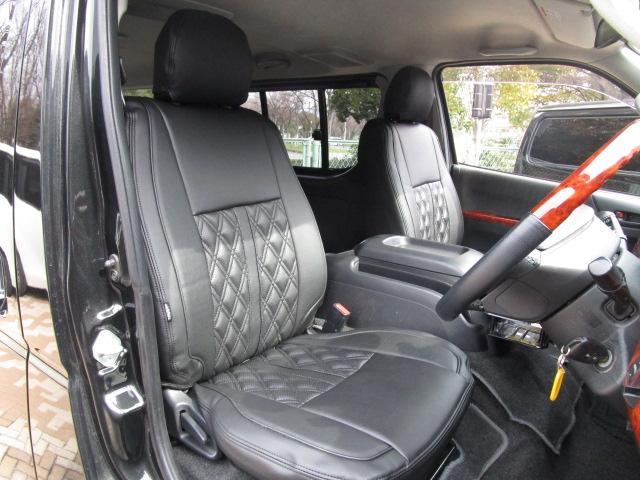トヨタ ハイエースバン ロングスーパーGLディーゼルTB エアロナビ新品16アルミ
