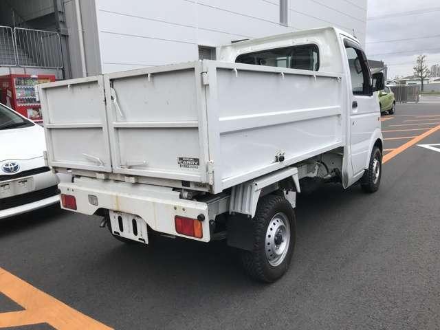 清掃ダンプ 5MT エアコン パワステ 修復歴無 車検整備付(3枚目)