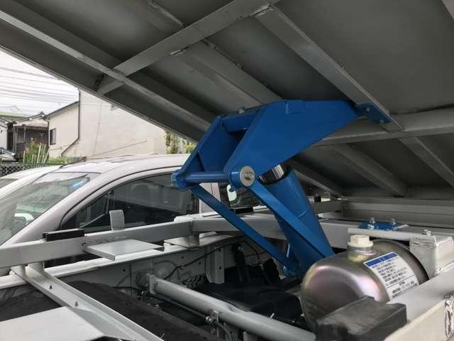 清掃ダンプ 5MT エアコン パワステ 修復歴無 車検整備付(12枚目)