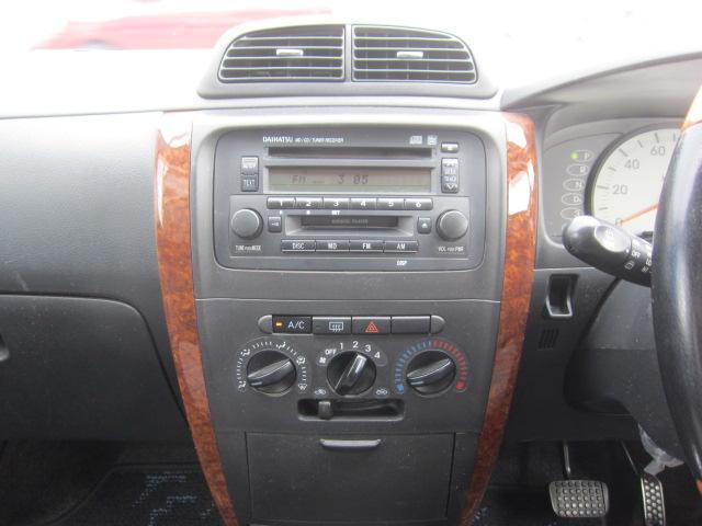 X 4WD キーレス CDデッキ ウッドコンビハンドル(11枚目)