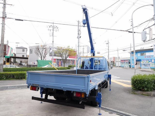 日産 アトラストラック 3Tユニック タダノ5段クレーン リヤアウトリガー 6速MT