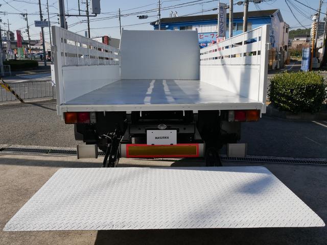 三菱ふそう キャンター 4.1T積載 ワイド超ロング パワーゲート 6速MT