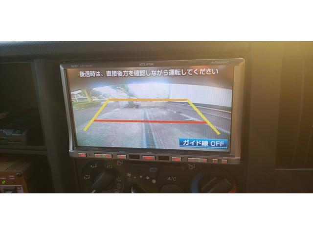 HDDナビ フルセグTV ETC付き バックカメラ装備