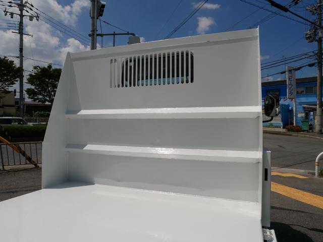 3t 強化ダンプ 低床 極東製 三方開 ETC 左電格ミラー ディーゼルターボ 中間ピン 鳥居アングル補強(19枚目)