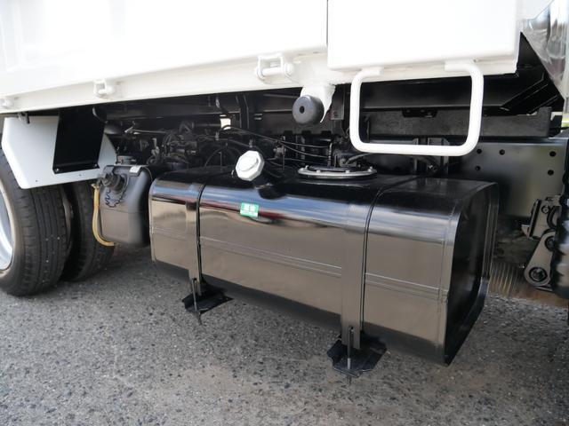 3t 強化ダンプ 低床 極東製 三方開 ETC 左電格ミラー ディーゼルターボ 中間ピン 鳥居アングル補強(26枚目)