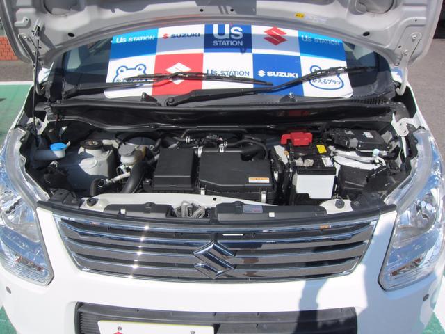 スズキ ワゴンR FX 2型 衝突軽減レーダーブレーキ搭載
