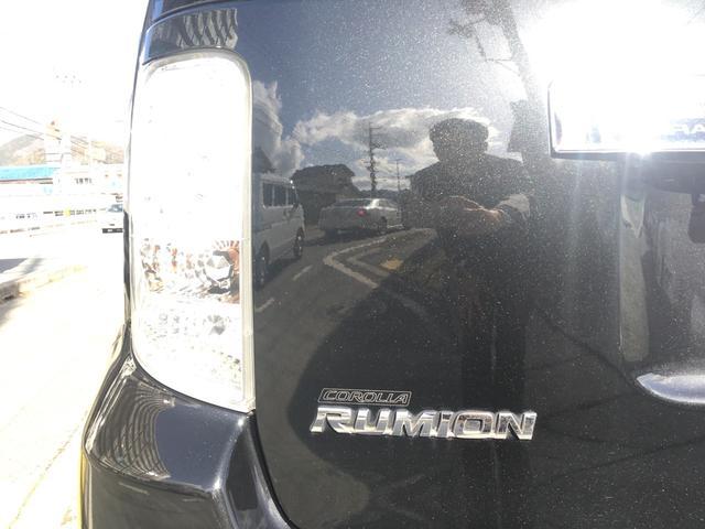 トヨタ カローラルミオン 1.8S エアロツアラー ナビ バックカメラ ETC