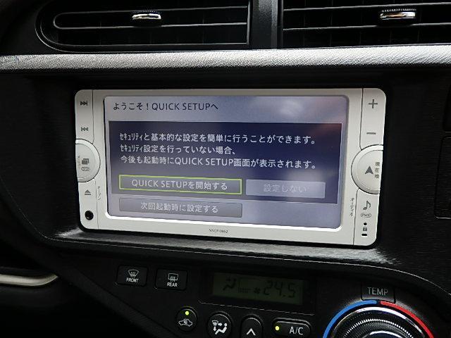 トヨタ アクア G ナビ ETC バックカメラ