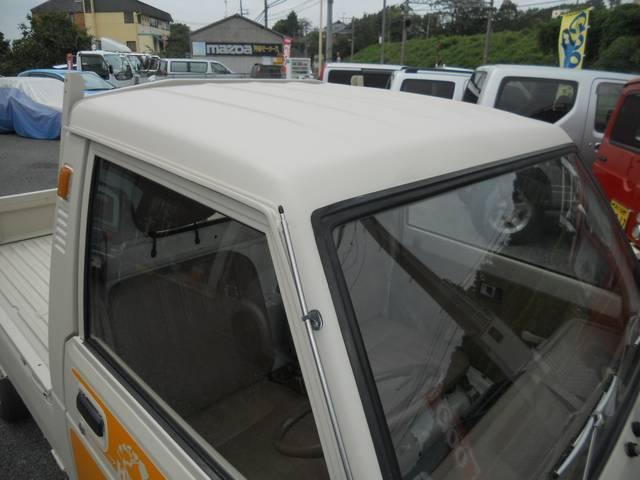 ダイハツ ハイゼットトラック デモカー オールペン 車内殺菌抗菌処理
