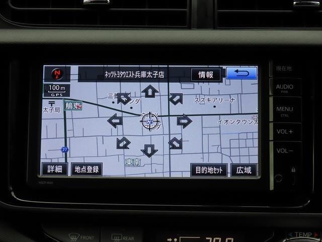S ワンオーナー車 純正SDナビ バックモニター ETC(8枚目)
