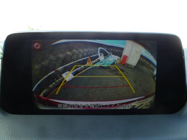 駐車時に便利なバックカメラも付いています☆