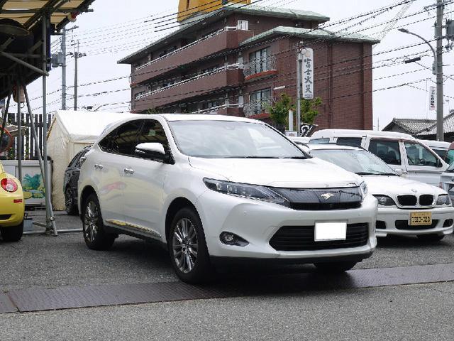 トヨタ ハリアー プレミアム アドバンスドパッケージ JBLサウンド ETC