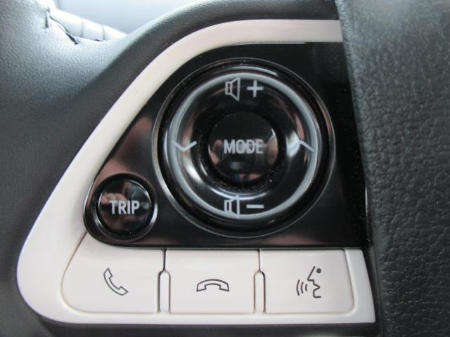 ハンドル左側のスイッチでオーディオのボリューム等操作可能です☆お気に入りの曲でドライブへGO♪