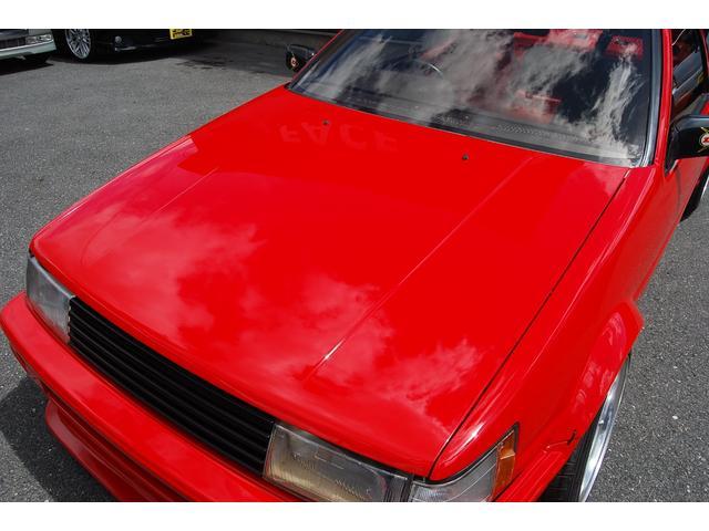 トヨタ カローラレビン GT APEX 92後期 エアロマフラーNEWオールペイント