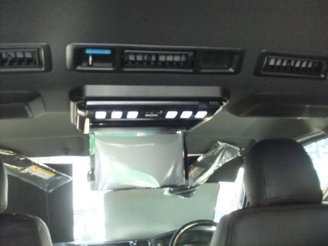 ロングスーパーGL NEW6型ハイエース 最新地デジナビ バックカメラ レザーシート キャンプ車中泊ベッドキット フロントエアロ ローダウン1インチ〜3インチ 60種類以上から選べるアルミホイール標準装備(14枚目)