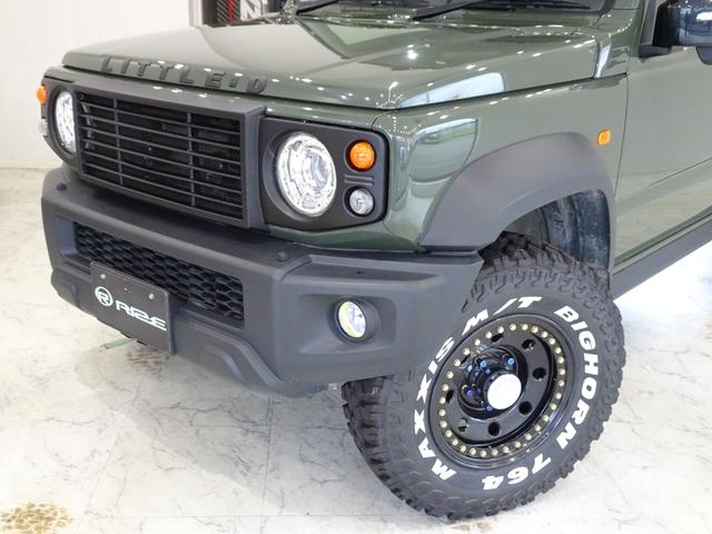 JC スズキセーフティサポート装着車リフトアップマフラー16インチタイヤホイールオフロード仕様(4枚目)