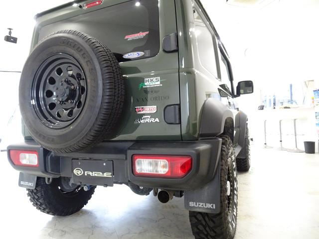 JC スズキセーフティサポート装着車リフトアップマフラー16インチタイヤホイールオフロード仕様(17枚目)