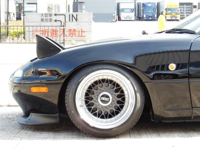ユーノス ユーノスロードスター Sスペ BBSRS改 車高調 ハードトップ FRPトランク
