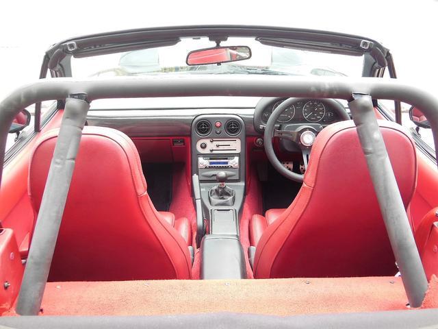 Sリミテッド SLTD 赤内装 新タイヤ15AW ガレージベリー エアロ 車高調 幌(3枚目)