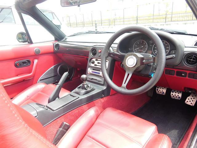 Sリミテッド SLTD 赤内装 新タイヤ15AW ガレージベリー エアロ 車高調 幌(25枚目)
