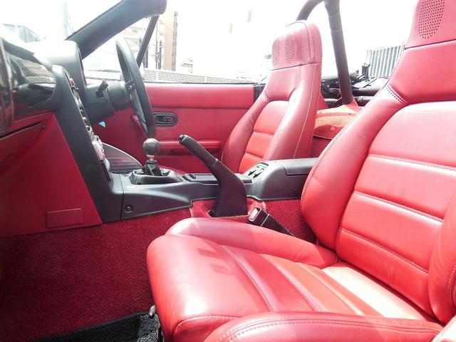 Sリミテッド SLTD 赤内装 新タイヤ15AW ガレージベリー エアロ 車高調 幌(30枚目)
