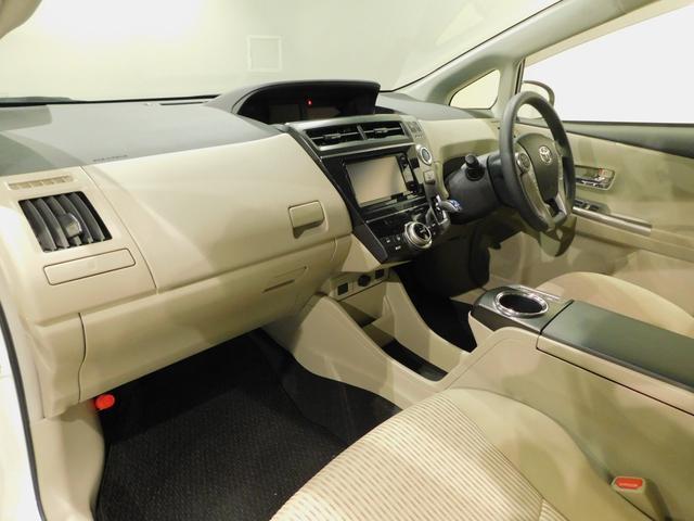 トヨタ プリウスアルファ SメモリナビフルセグNSZT-W64スマートキBTオーディオ