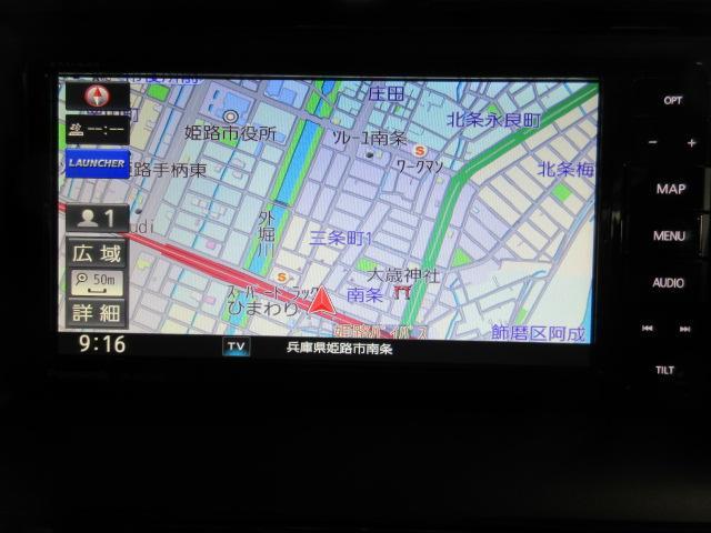 34万円オプションセットのオプションセットのフルセグ地デジメモリーナビ(DVD再生・CD録音OK・ハンドルリモコン対応・地図更新特典付き)新車2台限定・グレードカラー変更OK!