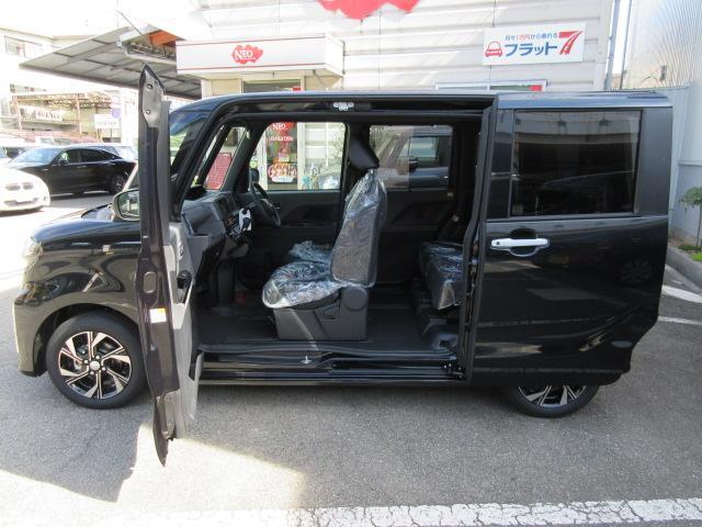 カスタムXセレクション新車TVナビETCバックカメラマット(16枚目)