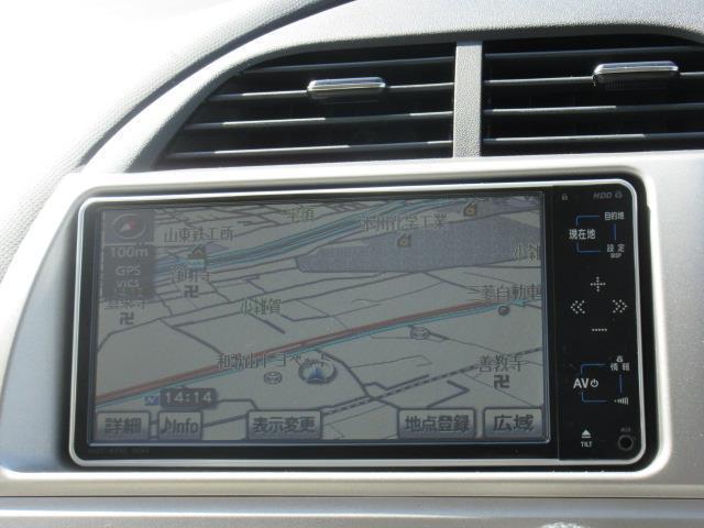トヨタ ラクティス G Lパッケージ HDDナビ