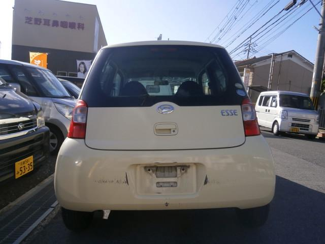「ダイハツ」「エッセ」「軽自動車」「京都府」の中古車5