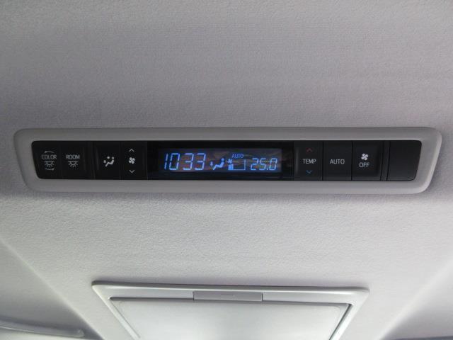 2.5Z フルセグ DVD再生 後席モニター バックカメラ 衝突被害軽減システム ETC 両側電動スライド LEDヘッドランプ 乗車定員8人 3列シート ワンオーナー フルエアロ 記録簿(9枚目)