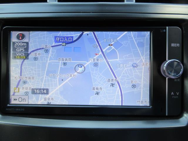 S フルセグ メモリーナビ DVD再生 バックカメラ ETC LEDヘッドランプ ワンオーナー フルエアロ 記録簿(5枚目)