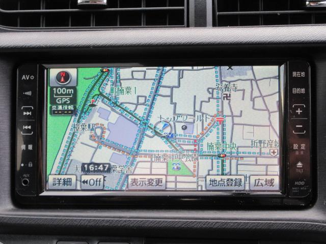 トヨタ アクア S HDDナビ・ワンセグTV・スマートエントリー