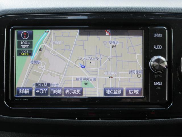 トヨタ純正SDナビ・フルセグTV・DVD再生可能