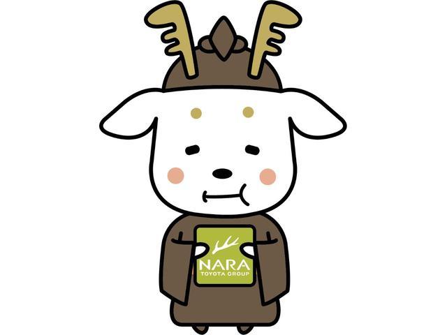 当社のマスコットキャラクター【まほろばトヨ太子君】です!どうぞU-CarMax奈良八条店を、よろしくお願いいたします!オリジナルグッズも販売しております!