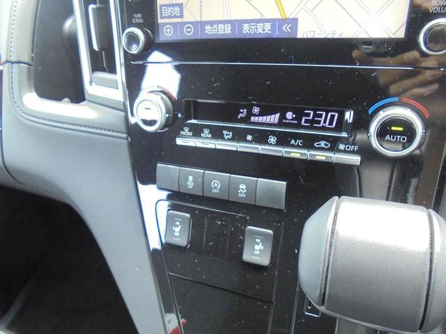 運転席・助手席は快適温熱シートが装備されているので、寒い冬の日でも快適に過ごしていただけます。特に女性には、重宝するアイテムの一つです!