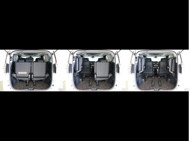 2.5Z Gエディション サンルーフ フルセグ メモリーナビ DVD再生 後席モニター バックカメラ 衝突被害軽減システム ETC 両側電動スライド LEDヘッドランプ 乗車定員7人 3列シート ワンオーナー(18枚目)