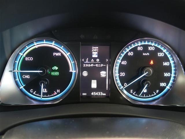 トヨタ ハリアーハイブリッド エレガンス 4WD ETC バックカメラ ワンオーナー車