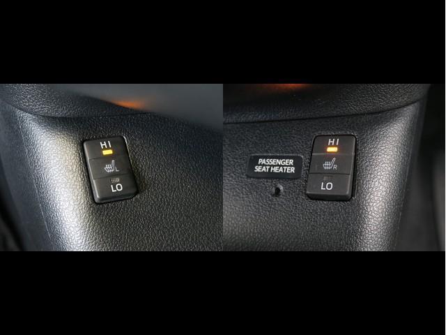 前席にシートヒーターついております♪ HIとLOで2段階調節ができます(^^)/