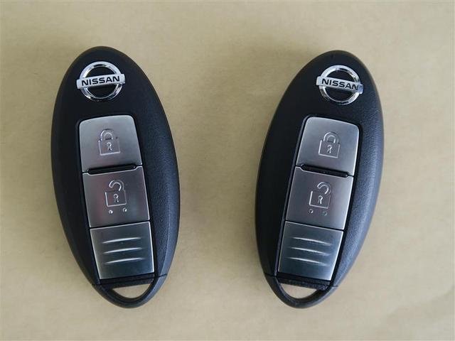 スマートキータイプの鍵です♪ キーを身に着けた状態で、鍵の開け閉めやエンジン始動が可能です(^^)/