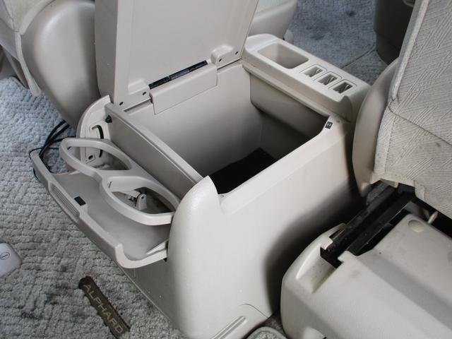 トヨタ アルファードG AX LエディションHDDナビパワスラリアモニター