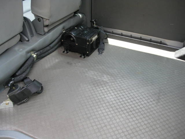 ハイルーフ 車いす スローパー 4WD(11枚目)