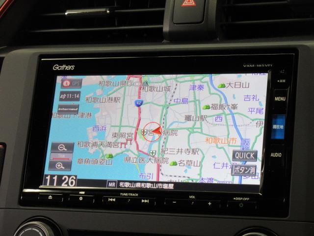 タイプR フルセグ メモリーナビ DVD再生 バックカメラ ETC LEDヘッドランプ フルエアロ アイドリングストップ(9枚目)