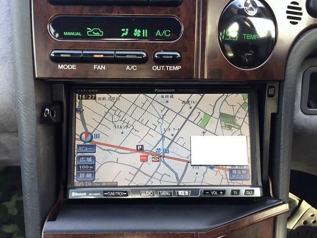 スバル アルシオーネSVX S4 社外ナビTV ETC